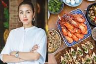 Tiệc cuối tuần của gia đình tài phiệt do Hà Tăng tự nấu, toàn hải sản xịn, nhìn thôi đã biết hấp dẫn vô cùng