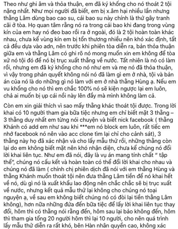 Nữ sinh bị hiếp dâm tập thể ở Hàn tiết lộ file ghi âm trò chuyện giữa mẹ ruột và mẹ của người hãm hại mình-4