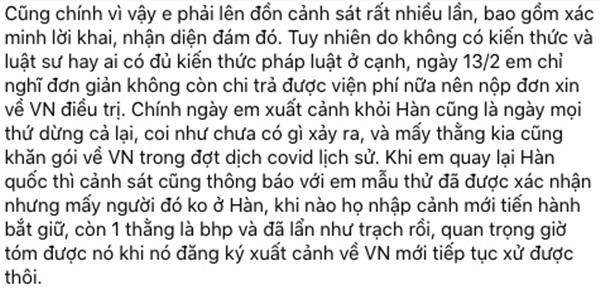 Nữ sinh bị hiếp dâm tập thể ở Hàn tiết lộ file ghi âm trò chuyện giữa mẹ ruột và mẹ của người hãm hại mình-5