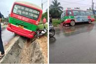 Thương tâm: Bé gái lớp 5 bị xe buýt tông tử vong trên đường đi học