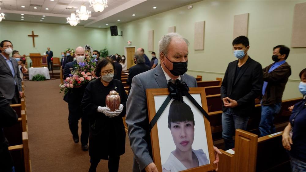 Nạn nhân gốc Á bị bắn chết ở Mỹ, tang lễ không một người thân quen-1