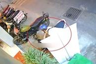 Trộm xe máy trong 10 giây ở TP.HCM