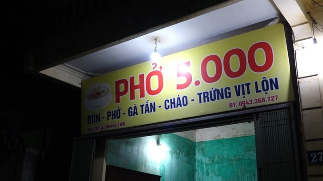 Quán phở 5000 đồng: 16 năm không tăng giá, ngày bán 500 bát ở Nam Định-2