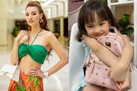 Con gái mới 5 tuổi, Hồng Quế đã chơi lớn mua tặng ba lô xịn xò, cách người mẫu dạy con ứng xử mới gây chú ý