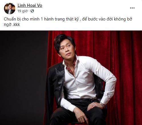 Danh hài Hoài Linh tung bộ ảnh đẹp trai như soái ca, hết Phi Nhung đến Khả Như muốn chốt đơn-1