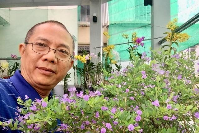 Thăm khu vườn hàng chục loại hoa và rau sạch của nghệ sĩ gạo cội Trung Dân-2