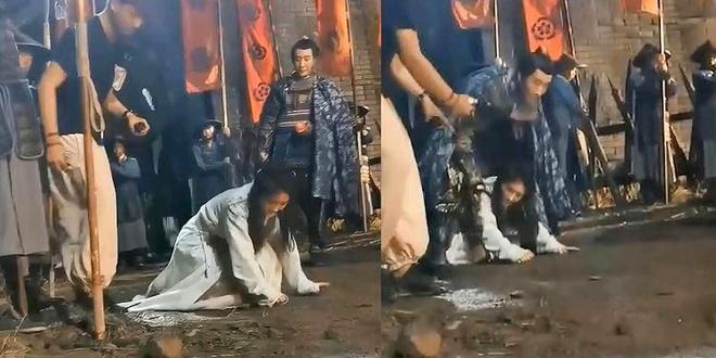 Diễn viên quần chúng bị dẫm đạp và thực tế tàn khốc ở phim trường Trung Quốc-2