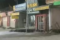 Hà Nội: Xuất hiện hố tử thần 30m2 sát ngay nhà dân, 20 hộ được sơ tán