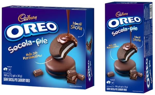 Oreo ra mắt bánh Socola Pie 'mềm ngon khó cưỡng'-2