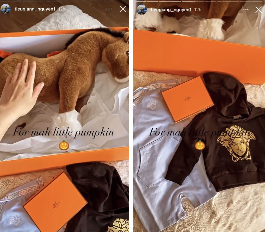 Chị cả giới con nhà giàu Việt khẳng định đẳng cấp sang chảnh khi sắm đồ cho con-3