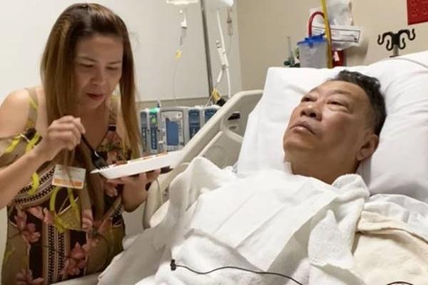 Nhạc sĩ Lê Quang phẫu thuật thông mạch máu não-1
