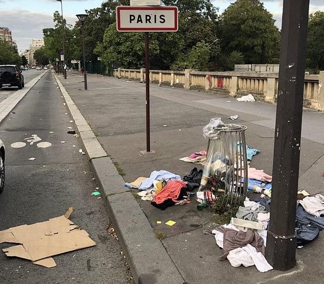 Những hình ảnh gây sốc cho thấy thành phố Paris hoa lệ ngập trong rác khiến cộng đồng mạng thất vọng tràn trề, chuyện gì đang xảy ra?-5