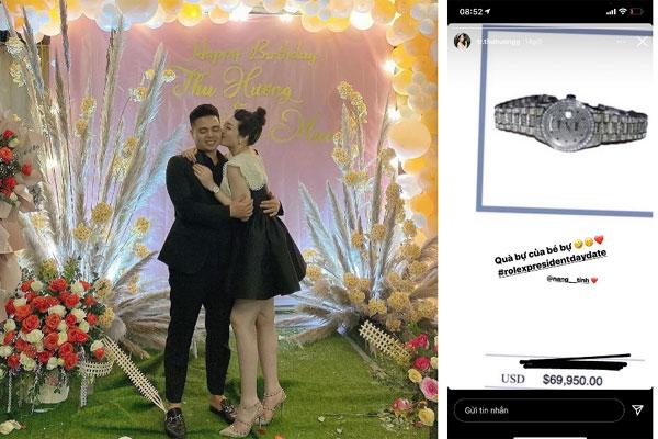 Cô dâu 200 cây vàng ở Nam Định khoe được chồng tặng chiếc đồng hồ thương hiệu nhà giàu có giá trị bằng cả căn chung cư-1