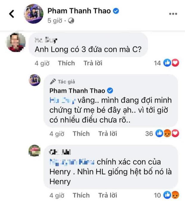 Ca sĩ Phạm Thanh Thảo nghi ngờ bé Helen không phải con của Vân Quang Long, tiết lộ đang đợi minh chứng từ mẹ bé?-2