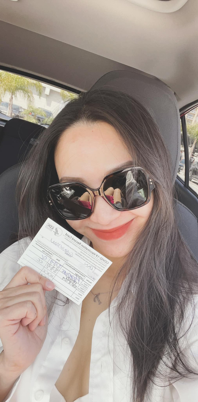 Vợ Baggio - Hot mom Quỳnh Trâm tiết lộ hành trình đưa gia đình đi tiêm vắc xin chống Covid tại Mỹ, đã từng bị tác dụng phụ đến uống thuốc giảm đau-2