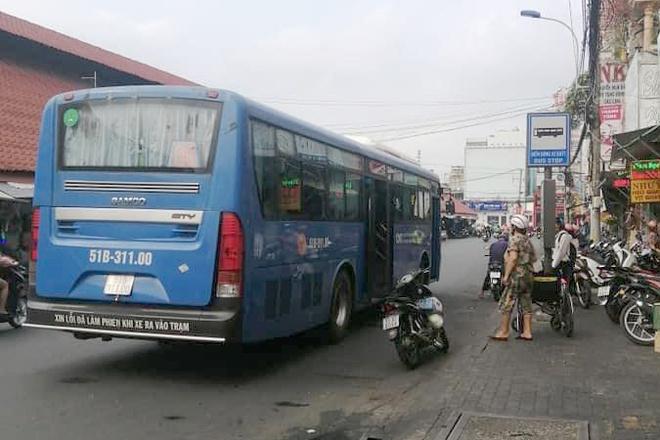 Tiếp viên xe buýt từ chối phục vụ người khuyết tật ở TP.HCM-1