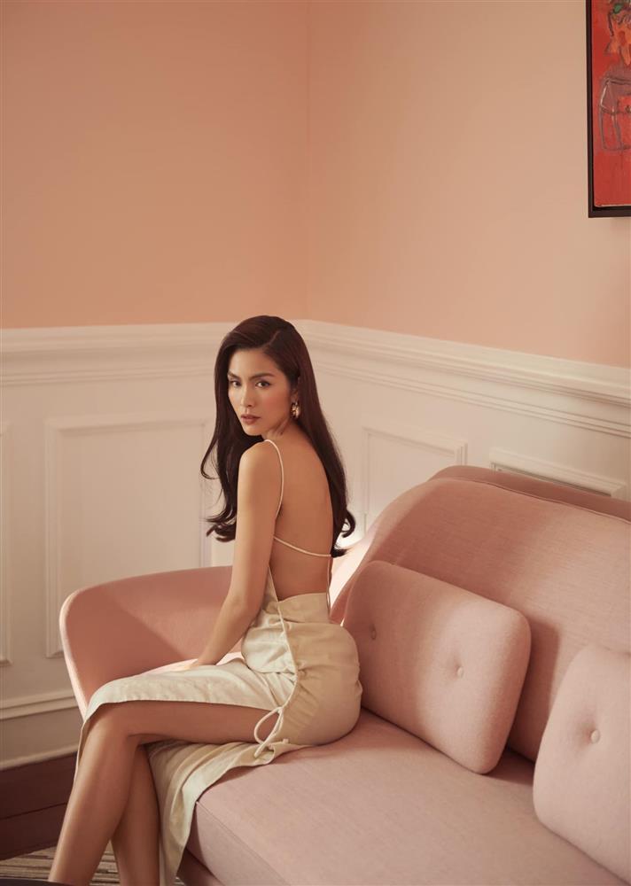 Hà Tăng diện đồ sexy quá nhưng sao cứ giống váy áo của Gigi Hadid thế nhỉ?-1