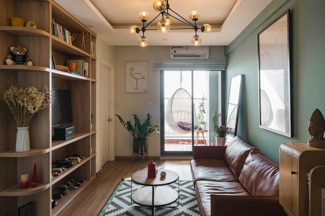 Chi 250 triệu sửa căn hộ để về chung 1 nhà, cặp vợ chồng ghi điểm tuyệt đối với style trẻ trung, hiện đại-3