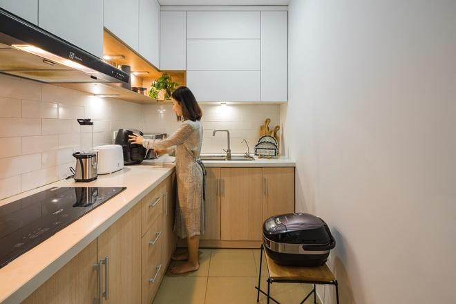 Chi 250 triệu sửa căn hộ để về chung 1 nhà, cặp vợ chồng ghi điểm tuyệt đối với style trẻ trung, hiện đại-7