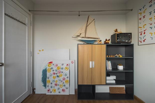 Chi 250 triệu sửa căn hộ để về chung 1 nhà, cặp vợ chồng ghi điểm tuyệt đối với style trẻ trung, hiện đại-12