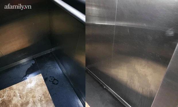 Thêm chuyện kinh dị ở chung cư thủng khiến 2 người rơi từ tầng 2: Tranh thủ lúc không có ai, cư dân tè luôn trong thang máy-4