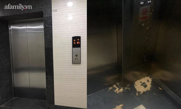 Thêm chuyện kinh dị ở chung cư thủng khiến 2 người rơi từ tầng 2: Tranh thủ lúc không có ai, cư dân tè luôn trong thang máy-2