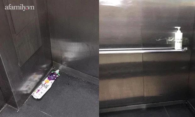 Thêm chuyện kinh dị ở chung cư thủng khiến 2 người rơi từ tầng 2: Tranh thủ lúc không có ai, cư dân tè luôn trong thang máy-3