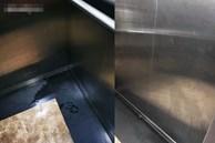 Thêm chuyện kinh dị ở 'chung cư thủng' khiến 2 người rơi từ tầng 2: Tranh thủ lúc không có ai, cư dân 'tè' luôn trong thang máy