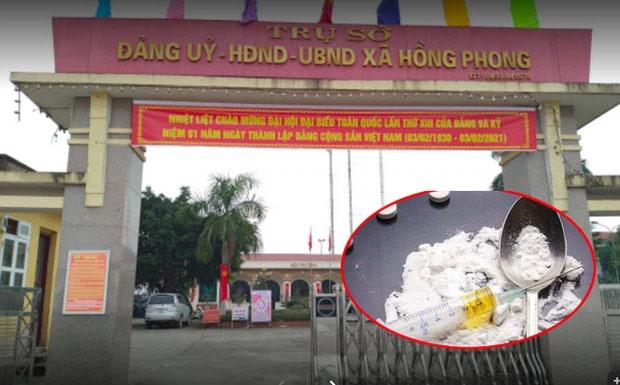 Vị phó chủ tịch xã bị bắt quả tang tàng trữ ma tuý từng khẳng định với lãnh đạo không sử dụng ma tuý-1