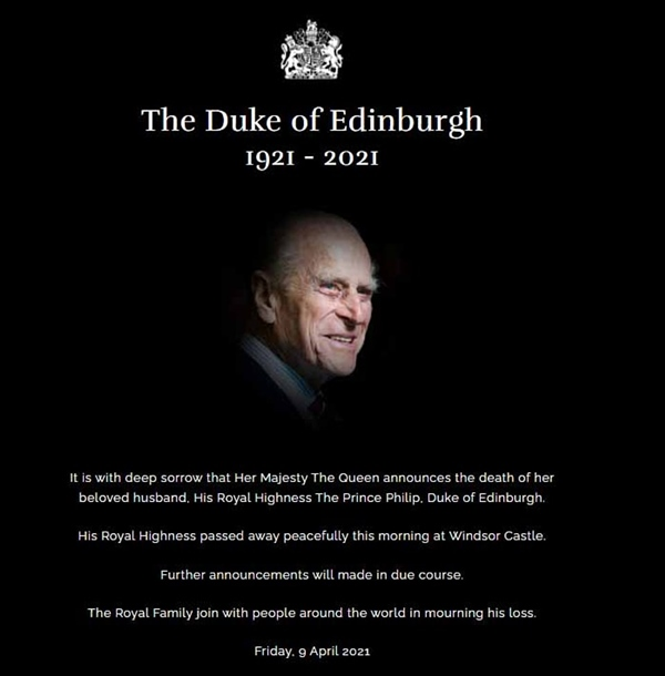 Những hình ảnh cuối cùng của chồng Nữ hoàng Anh - Hoàng tế Philip, trước khi qua đời ở tuổi 99-1