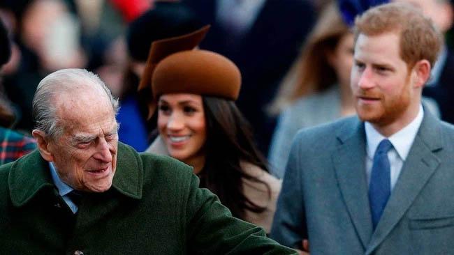 Phản ứng đầu tiên của Harry và Meghan ngay sau khi nhận tin Hoàng tế Philip qua đời gây ra nhiều tranh cãi-2
