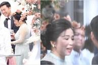 Người mẹ vợ bề thế của Xuân Trường xuất hiện thần thái trong đám hỏi: Bảo sao Nhuệ Giang lại xinh đến thế!