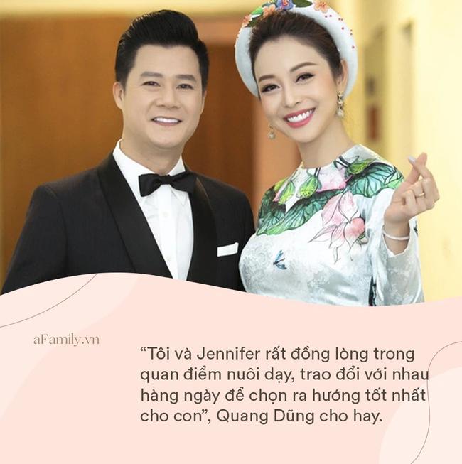 Chỉ 1 động thái nhỏ trên Facebook, Jennifer Phạm và chồng cũ Quang Dũng bỗng được khen ngợi hết lời: Dạy con văn minh quá!-4