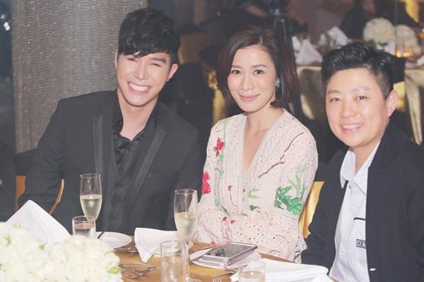 Đẳng cấp quan hệ rộng của Nathan Lee: Hết dùng bữa với Cổ Thiên Lạc lại sang ngồi bàn tiệc với Xa Thi Mạn-1