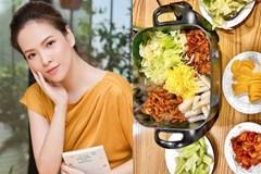 Hiếm khi vào bếp nhưng tài nấu ăn củaĐan Lê thật đáng nể: Làm gà xào phô mai Hàn Quốc nhìn thôi đã mê!