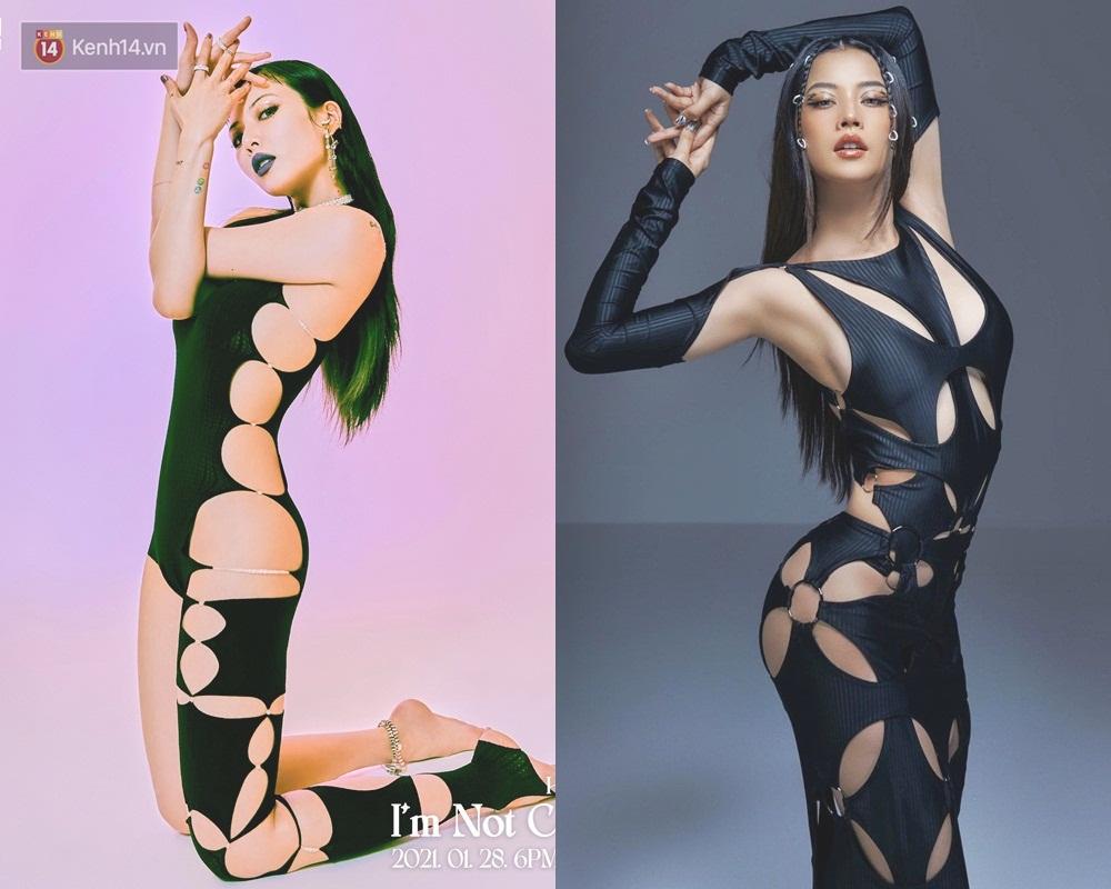 Hóa ra Chi Pu từng dính hàng loạt nghi án đạo nhái, ngay cả bộ ảnh mới cũng bị nghi copy HyunA-2