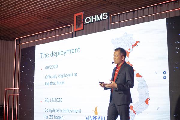 Vingroup ra mắt giải pháp chuyển đổi số quản lý và vận hành khách sạn toàn diện CiHMS-1