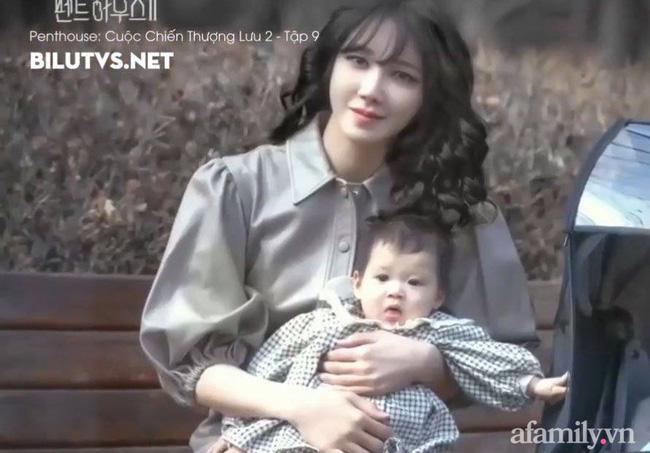 Tiết lộ danh tính bé gái Việt xuất hiện trong bộ phim đình đám Hàn Quốc - Penthouse, ngoài đời gây sốt vì gương mặt xinh như búp bê-1