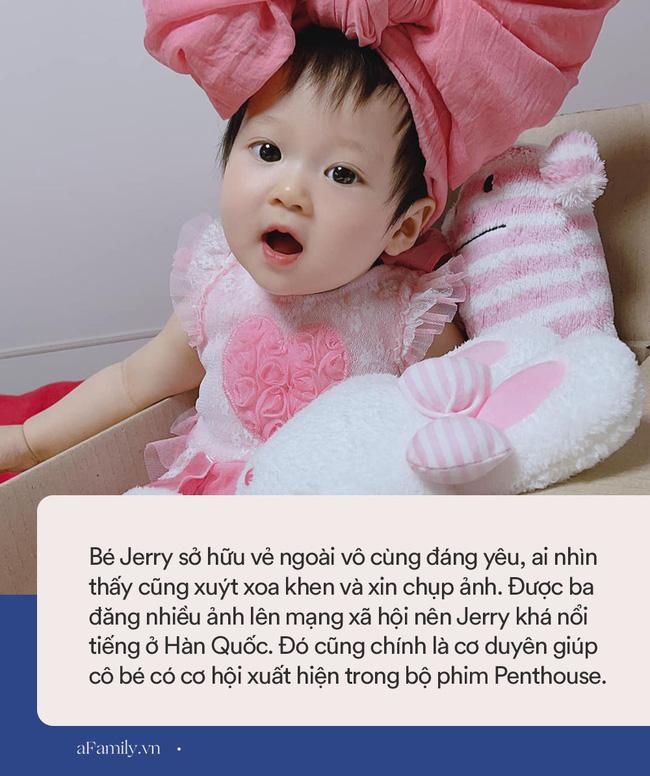 Tiết lộ danh tính bé gái Việt xuất hiện trong bộ phim đình đám Hàn Quốc - Penthouse, ngoài đời gây sốt vì gương mặt xinh như búp bê-9