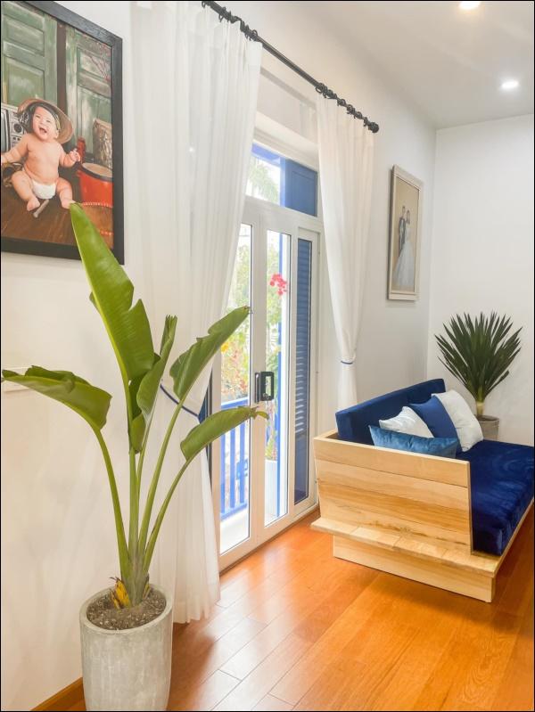 Chăm đi du lịch, vợ chồng trẻ Vĩnh Phúc tự lên ý tưởng thiết kế nhà đẹp chuẩn homestay xịn sò, nhìn mà mê-4