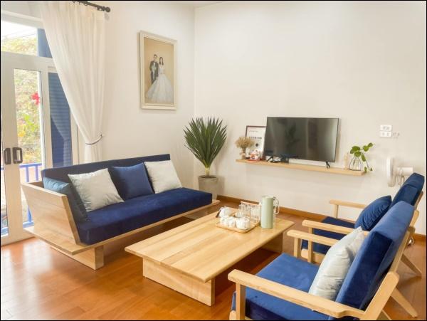 Chăm đi du lịch, vợ chồng trẻ Vĩnh Phúc tự lên ý tưởng thiết kế nhà đẹp chuẩn homestay xịn sò, nhìn mà mê-5