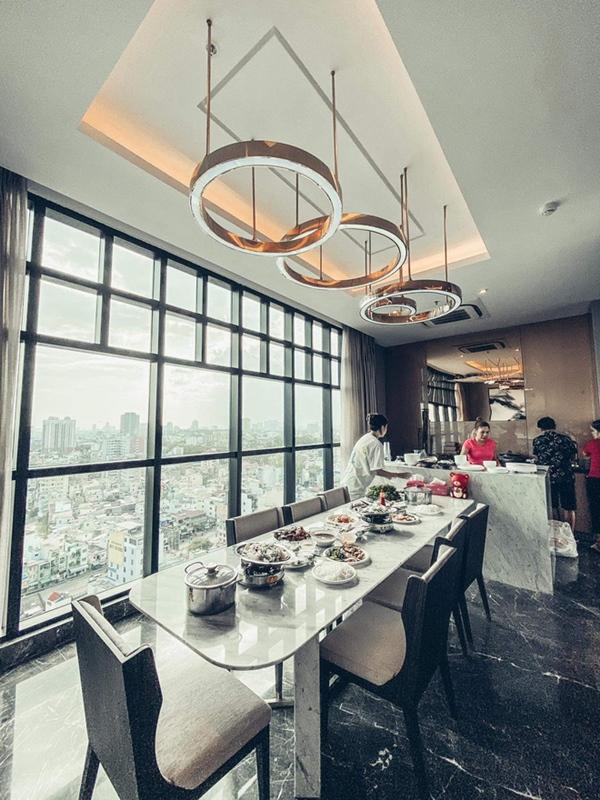 Thanh Thảo mừng tân gia nhà mới, hé lộ không gian giàu có của căn hộ view triệu đô-3