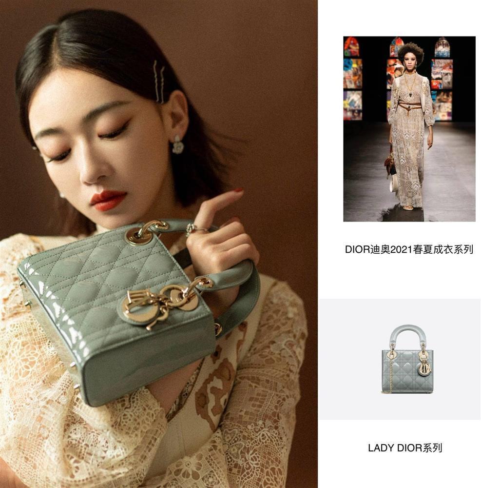 Dự show Dior, Ngô Cẩn Ngôn lấn át từ con dâu sòng bài Macau tới Chương Tử Di nhờ mái tóc ngắn kiêu kỳ và style thăng hạng-3