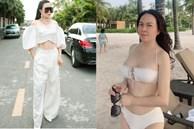 Phượng Chanel mặc croptop như gái teen khoe eo 63 cm