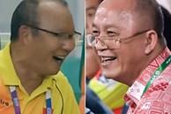 Nụ cười gây tranh cãi của chủ tịch CLB Quảng Ninh và HLV Park