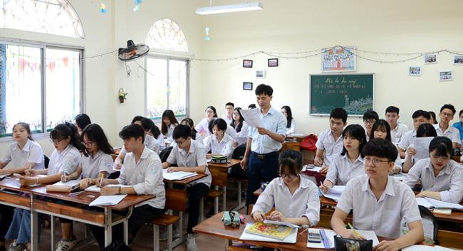 Toàn bộ học sinh lớp 12 phải làm bài thi khảo sát vào ngày 11 và 12/5-1