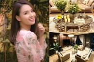 Cận cảnh không gian lộng lẫy mùa hoa loa kèn trong biệt thự triệu đô ven sông của Lã Thanh Huyền