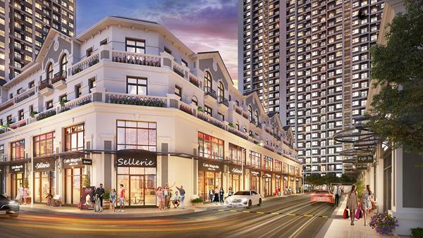 Mở bán toà căn hộ dịch vụ đầu tiên ở Vinhomes Smart City-1