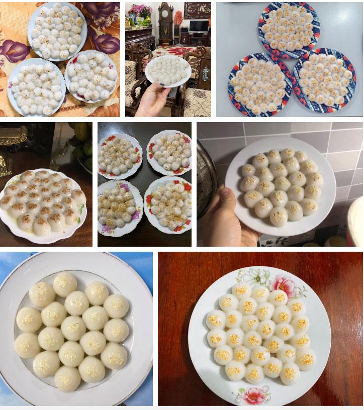 Đại hội nặn bánh trôi của dân mạng nhân dịp Tết Hàn thực: Tác phẩm nào cũng đẹp xuất sắc, ai khéo tay lắm mới làm được!-10