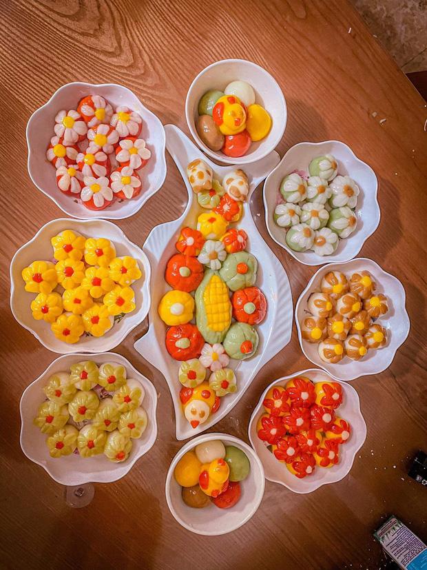 Đại hội nặn bánh trôi của dân mạng nhân dịp Tết Hàn thực: Tác phẩm nào cũng đẹp xuất sắc, ai khéo tay lắm mới làm được!-5
